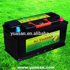 12V100AH SLI MF Maintenance Free Automotive DIN Standard Car Battery MF 60038