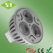 led residential lighting daylight white mr16 led 12v 3w