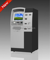 2014 new self payment kiosk cash acceptor support banknote acceptor
