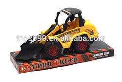 Hot New Plastic Pull Back Toy Tractors Truck Model STP-235051