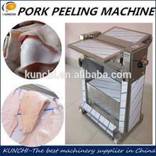 animal skin peeling machine