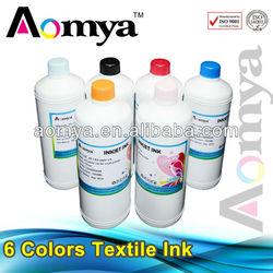 Aomya ink for bright t-shirt DTG ink digital textile ink compatible for Epson printer