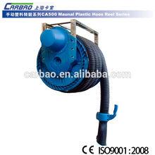 car repair equipment of exhaust extraction Manual plastic hose reel