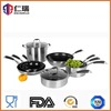 18/10 stainless steel t fal cookware setindustrial cooking pot