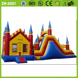 New attractive CE/UL certificated inflatable bounce house combo
