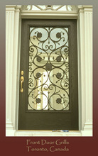 modern pictures of doors wrought iron hot sell
