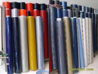 cheap blue super clear reliable decorative PVC soft film