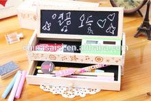 custom classical wooden pencil box wholesale price