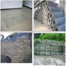 Gabion mesh basket,hexagonal gabion mesh box,wire cages rock retaining wall