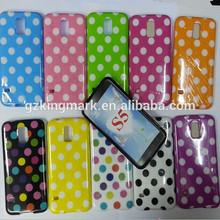Fashion Cheap Polka Dot Case for Samsung Galaxy S5 Tpu Cases