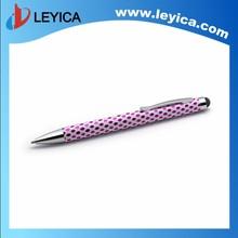 2 in 1 leather stylus pen stylus touch pen engraved stylus pen