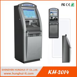 cash dispenser bank machine with printer&credit card reader