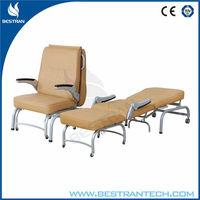 BT-CN005 hospital power coated folding sleeping chair