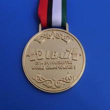Dubai Gold Medals 2014 IPC Powerlifting World Champions Medal Dubai