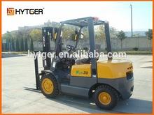 Chinese Brand HYTGER ISUZU Engine Diesel Forklift FD30,forklift battery charger