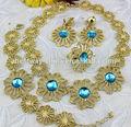 Africano caliente venta de joyas de oro plateado bf0606-2