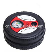 American market hot product tire shape air compressor tyre inflator mini car air compressor