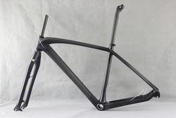 "2014 Excellent Design 27.5"" 650b Hardtail MTB carbon bike frame super light 15.5''/17.5''/19'' disc brake mountain bike frame X9"