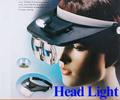 Cree led luces de la cabeza del faro& función de lupa