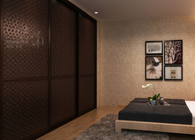 wall to wall sliding wardrobe door custom home furniture made