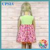Latest Fashion Wholesale Beautiful Baby Girl Cotton Dresses Summer Baby Dress
