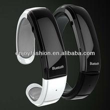 2012 Newest Mobile Phone Bluetooth Bracelet w/speaker Mic Time Caller ID Display Vibration