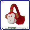 winter warm knitting earmuff pattern monkey style