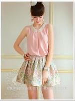 dabuwawa fashion blouses 2014 models blouses lady top new style clothes women