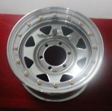 PCD 114.3 chrome wheel rim for SUV/racing car