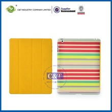 Good impression for ipad4 leather smart cover