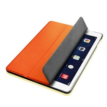2014 hight quality products fashion magnetic smart leather case for ipad 4 3/2 (manufacturer)