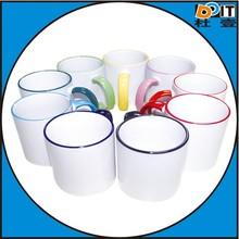 Sublimation rim colour mug
