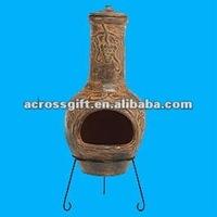 Hotsale terracotta chimineas for outdoor