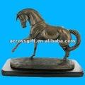 resina modelo de estatua del caballo