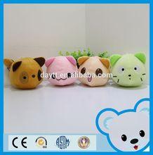 Toysrus supplier discount child toy 100% cotton mini plush cats
