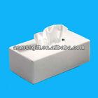 white porcelain tissue box