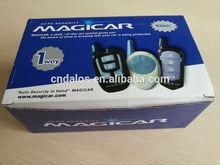 Magicar one way automotive arming car alarm/ remote trunk release car alarm with Ultrasonic sensor