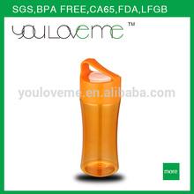 Promoción deportes botella de plástico para el regalo