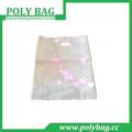 La promoción de polietileno biodegradable bolsa de ropa/troquelado bolso del pe