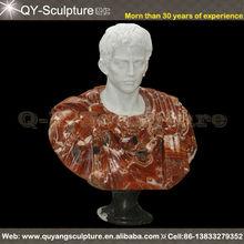 Sculpté Antique marbre bustes
