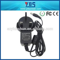 Lowest Cost!!Wall Socket Power Adapter (100v-240v compatible) 12V 1A /12 V 2A /5V 1A 5V 2A UK/US/EU (Plug in)