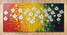 High Quality Handmade Paintings on Canvas --modern abstract landscape oil painting group canvas