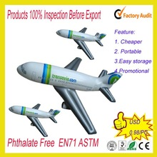 Factory Sale Inflatable Giant Airplane