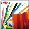office stationery manufacture direct supply colored translucent plastic report cover