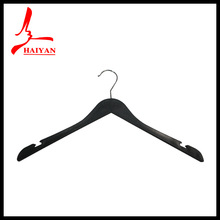 17.5 inch hot selling promotion advanced solid coat plastic hanger