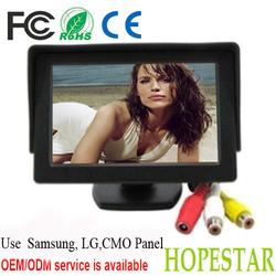 """3.5"""" dashboard monitor / 3.5 inch TFT LCD car monitor"""