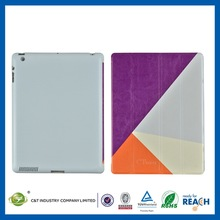 Whalesale high quality thigh holsters leather case for ipad 2
