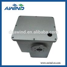gray anodize , cnc machining aluminum box