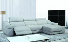 electric leather sofa recliner / modern leather sofa / electric leather recliner sofas ,FM057