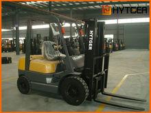 China Brand HYTGER Gasoline Forklift (LPG),container lifting forklift